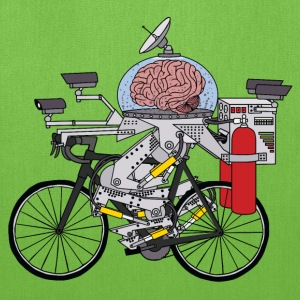 Brain Bike, Cyclist of the year 3000 Bags & backpacks - Tote Bag