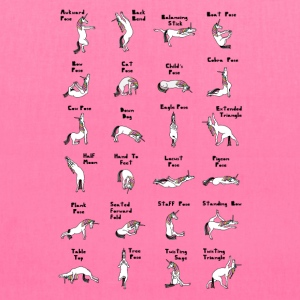 24 Yoga Unicorn Poses Bags & backpacks - Tote Bag