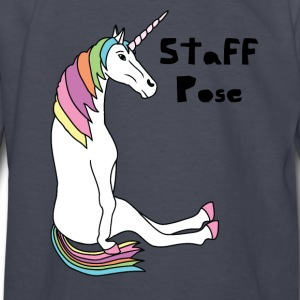 Yoga Unicorn Staff Pose Kids' Shirts - Kids' Long Sleeve T-Shirt