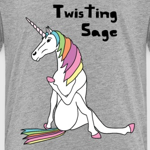 Yoga Unicorn Twisting Sage Pose Baby & Toddler Shirts - Toddler Premium T-Shirt