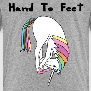 Yoga Unicorn Hand To Feet Pose Baby & Toddler Shirts - Toddler Premium T-Shirt