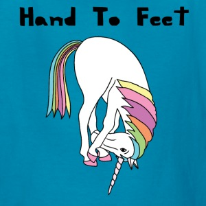 Yoga Unicorn Hand To Feet Pose Kids' Shirts - Kids' T-Shirt