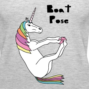 Yoga Unicorn Boat Pose Tanks - Women's Premium Tank Top
