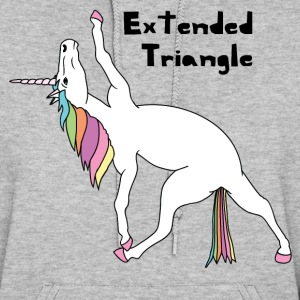 Yoga Unicorn Extended Triangle Pose Hoodies - Women's Hoodie