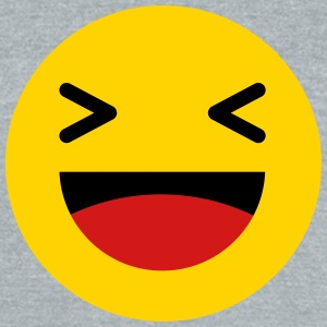 Haha funny emoticon Facebook T-Shirts - Unisex Tri-Blend T-Shirt by American Apparel