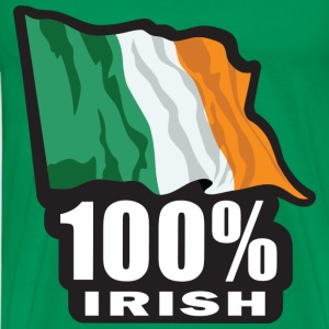 100% Irish - Men's Premium T-Shirt