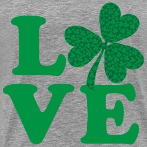 Love Shamrock - Men's Premium T-Shirt
