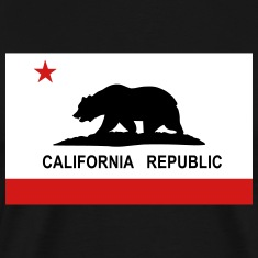 Flag of California T-Shirts