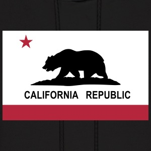 Flag of California Hoodies - Men's Hoodie