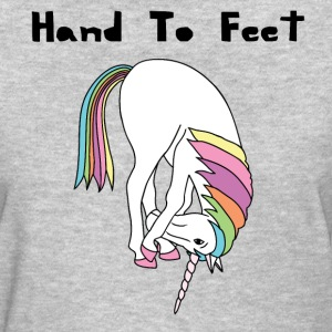 Yoga Unicorn Hand To Feet Pose Women's T-Shirts - Women's T-Shirt