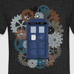 Traveling through Time - Unisex Tri-Blend T-Shirt by American Apparel