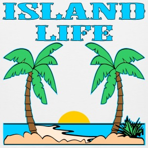 Island Life Color - Men's Premium Tank