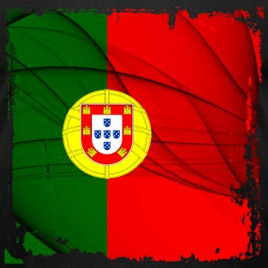 Portugal Flag T-shirt - Men's T-Shirt by American Apparel