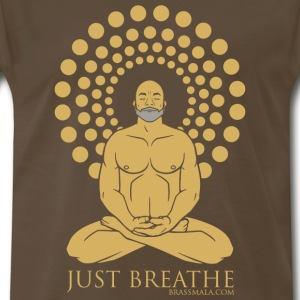 Just Breathe - Men's Premium T-Shirt