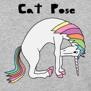 Yoga Unicorn Cat Pose T-Shirts - Baseball T-Shirt