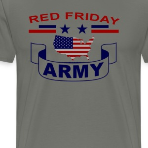 red_friday_army_t_shirt - Men's Premium T-Shirt