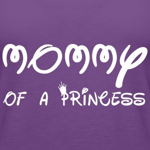 Mommy of a princess  - Women's Premium Tank Top