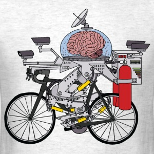 Brain Bike, Cyclist of the year 3000 T-Shirts - Men's T-Shirt