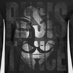 Anonymous Resistance - Men's Long Sleeve T-Shirt