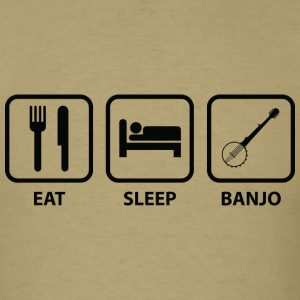 Eat Sleep Banjo - Men's T-Shirt