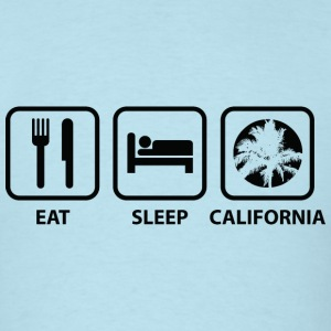 Eat Sleep California - Men's T-Shirt