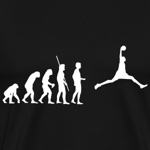 evolution Basketball Shirt - Men's Premium T-Shirt