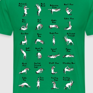 24 Yoga Unicorn Poses T-Shirts - Men's Premium T-Shirt