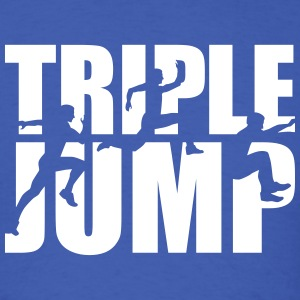 Triple jump T-Shirts - Men's T-Shirt