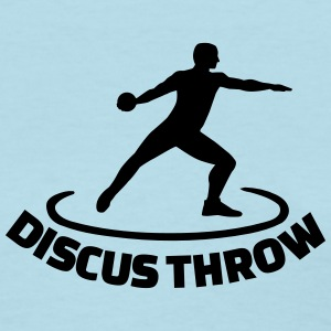 Discus throw Women's T-Shirts - Women's T-Shirt