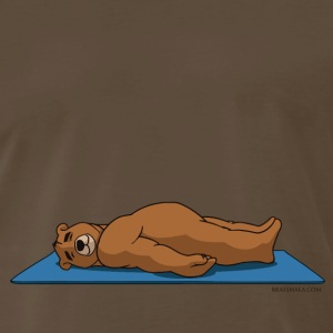 Oh So Yoga - Savasana pose - Men's Premium T-Shirt