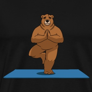 Oh So Yoga - Mountain pose - Men's Premium T-Shirt