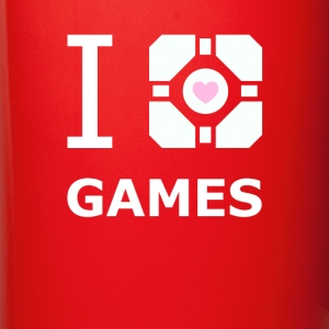 Companion Cube Gamer Gaming T Shirt Mugs & Drinkware - Full Color Mug