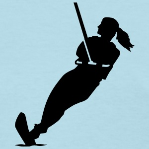 Water skiing Women's T-Shirts - Women's T-Shirt