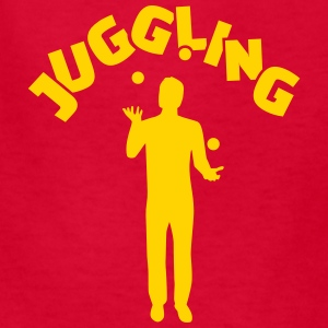 Juggling Kids' Shirts - Kids' T-Shirt