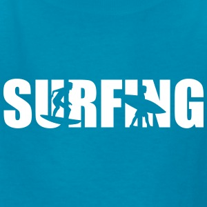 Surfing Kids' Shirts - Kids' T-Shirt