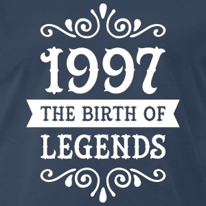1997 - The Birth Of Legends T-Shirts - Men's Premium T-Shirt