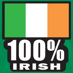 100%-IRISH T-Shirts - Men's Premium T-Shirt