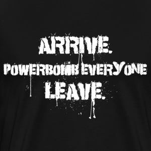 Arrive Powerbomb (Larger Sizes) - Men's Premium T-Shirt
