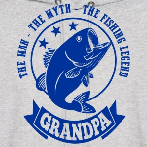 Grandpa Fishing Legend Hoodies - Men's Hoodie