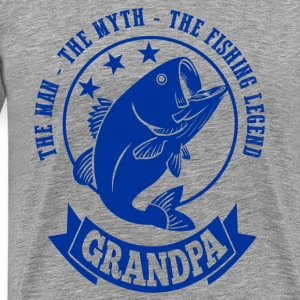 Grandpa Fishing Legend T-Shirts - Men's Premium T-Shirt