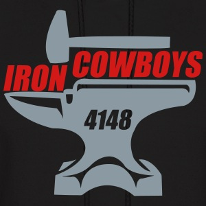 4148 Iron cowboys mens pullover  - Men's Hoodie