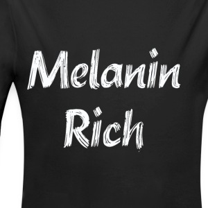Melanin Rich - Long Sleeve Baby Bodysuit