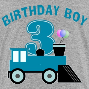 3rd Birthday Boy Shirt - Kids' Premium T-Shirt