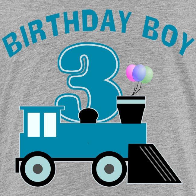One Stop T-Shirt Shop | 3rd Birthday Boy Shirt - Kids ...