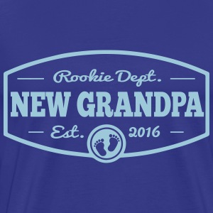 New Grandpa 2016 T-Shirts - Men's Premium T-Shirt