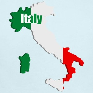 Italy map Baby Bodysuits - Short Sleeve Baby Bodysuit
