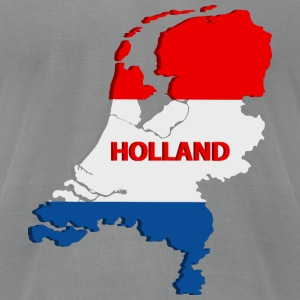 Holland map T-Shirts - Men's T-Shirt by American Apparel
