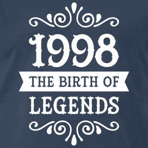 1998 - The Birth Of Legends T-Shirts - Men's Premium T-Shirt