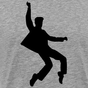 Elvis Dance Shirt - Men's Premium T-Shirt