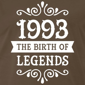 1993 - The Birth Of Legends T-Shirts - Men's Premium T-Shirt